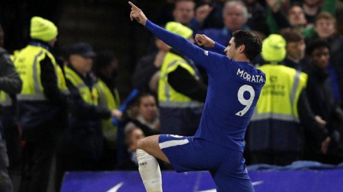 Morata Jadi Pahlawan Chelsea Tundukkan United