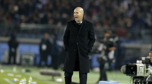 Zidane Akui Madrid Sedang Dalam Masa Krisis