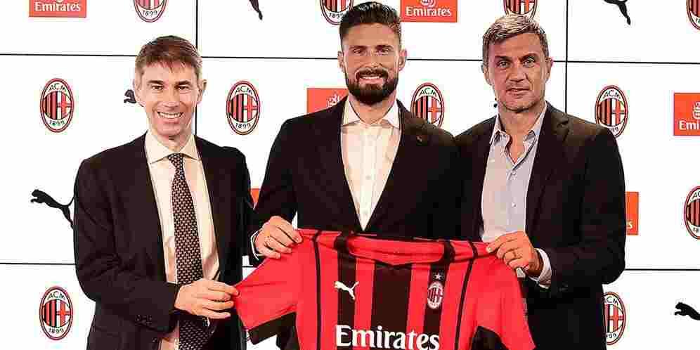 Giroud AC Milan